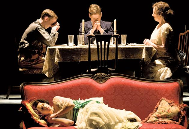 Eat, pray, love: 'The Glass Menagerie' at the Young Vic