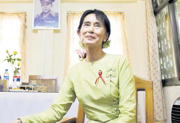 Aung San Suu Kyi says she is not concerned for her own safety, but her supporters have warned that the Burmese regime has hired hundreds of thugs to incite violence at her rallies
