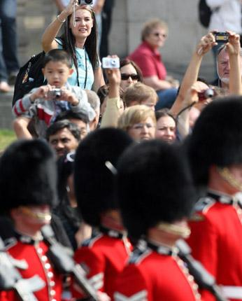 Pomp and circumstances: major events often keep Brits at home