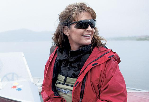 Mama grizzly: the former vicepresidential candidate Sarah Palin in her US TV show