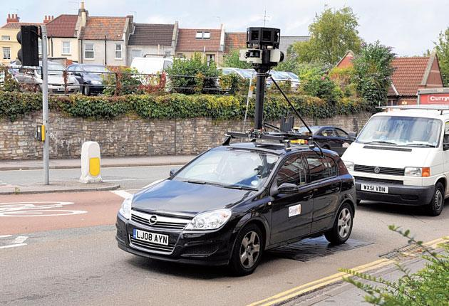 Google was accused of spying on people with its Street View mapping cars