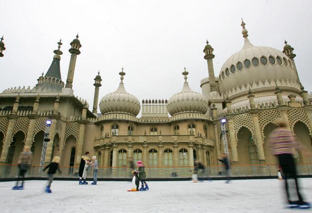 Ice palace: Skate at the Brighton Pavilion until 16 January