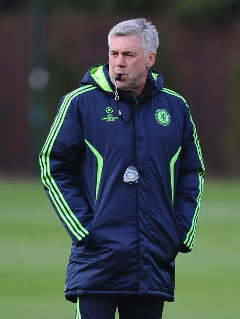 Ancelotti has seen Chelsea lose three of their last four games