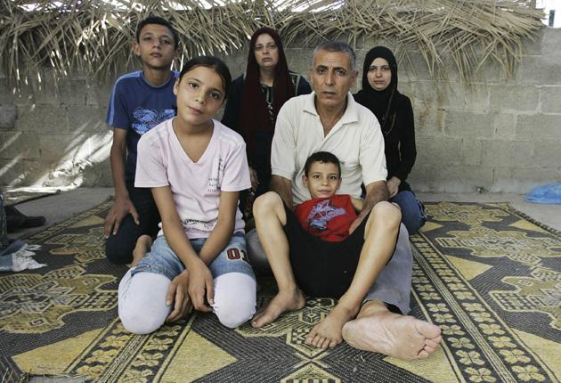 Imad and Dalia Hamdan have worked hard to keep their family together, but want to emigrate from Gaza City
