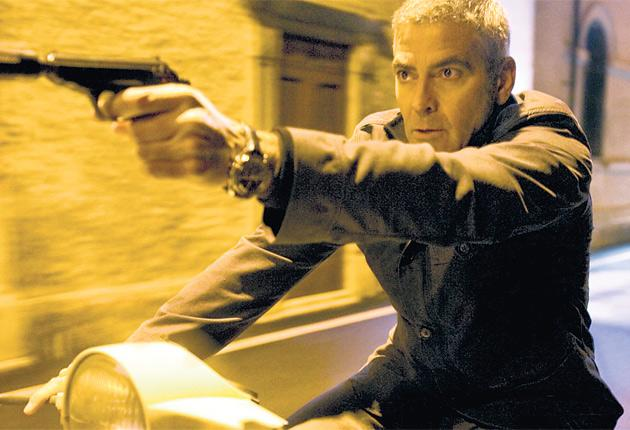 A bumpy ride: George Clooney plays a hitman in Anton Corbijn's The American