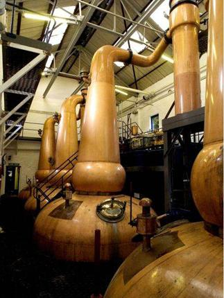 Exquisite alchemy: Tobermory Distillery; a wee dram of whisky