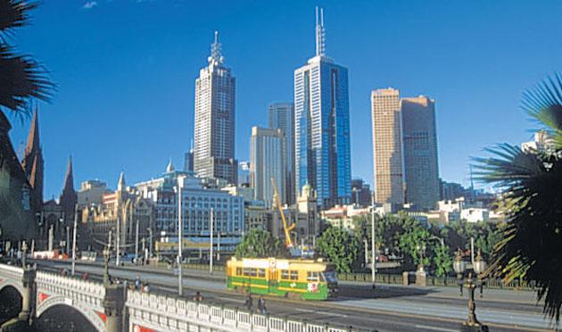 Keeping track: trams have run in Melbourne since 1885