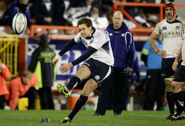 Ruaridh Jackson wins the match for Scotland
