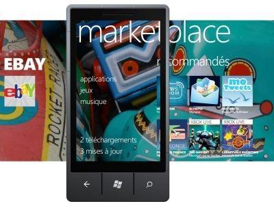 Marketplace for Microsoft Windows Phone 7