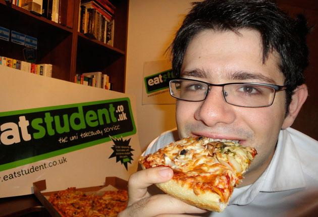 A pizza the action: Eatstudent's Josh Magidson