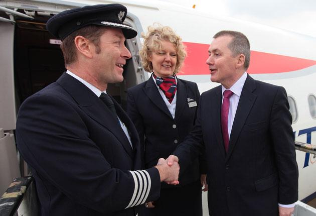 Willie Walsh boards a flight to Madrid to meet Iberia colleagues