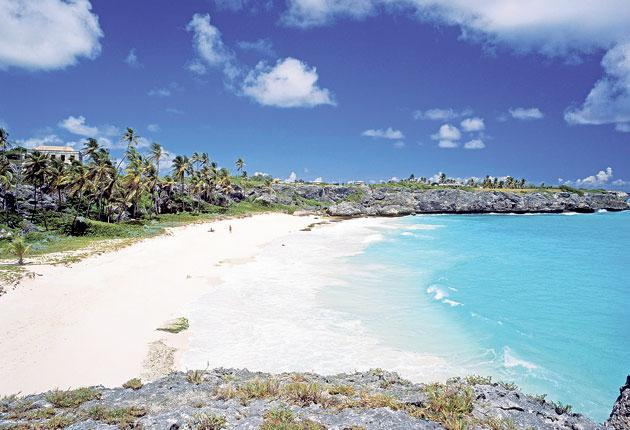Tourists attracted by spots such as Harrismith Beach in Barbados provide vital income to the Caribbean economy