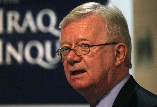 Sir John Chilcot, who is chairing the inquiry, expressed frustration that he could not refer to relevant documents