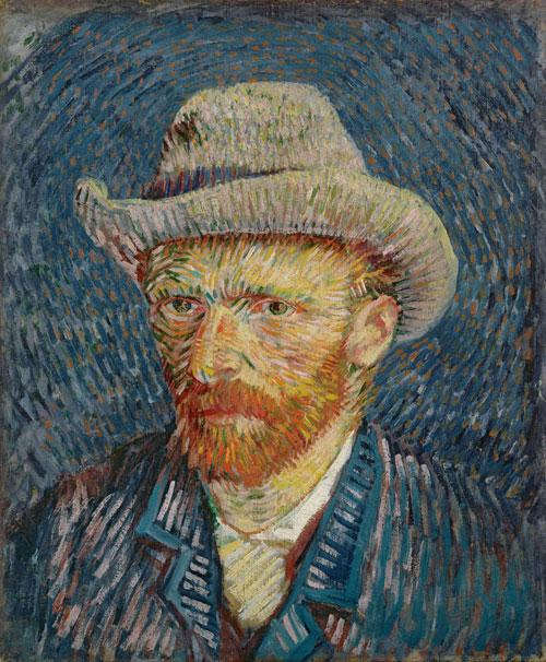 Vincent van Gogh's Self-portrait (1887) will be displayed at Dulwich Picture Gallery in July next year