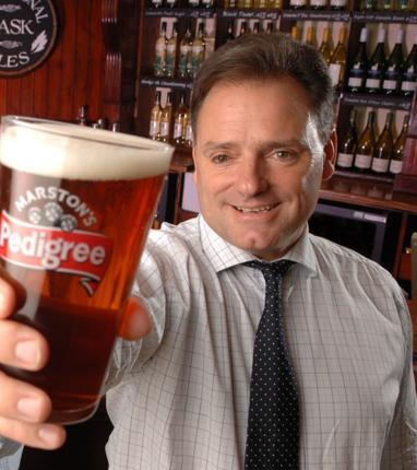 Ralph Findlay, chief executive, Marston's