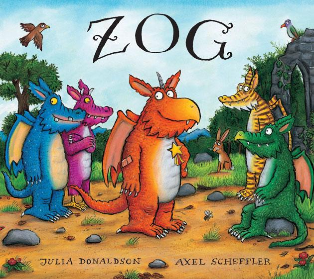 Zog, illustrated by Axel Scheffler