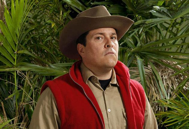 Dom Joly, who was finally kicked out of the 'I'm a Celebrity...' camp last Thursday