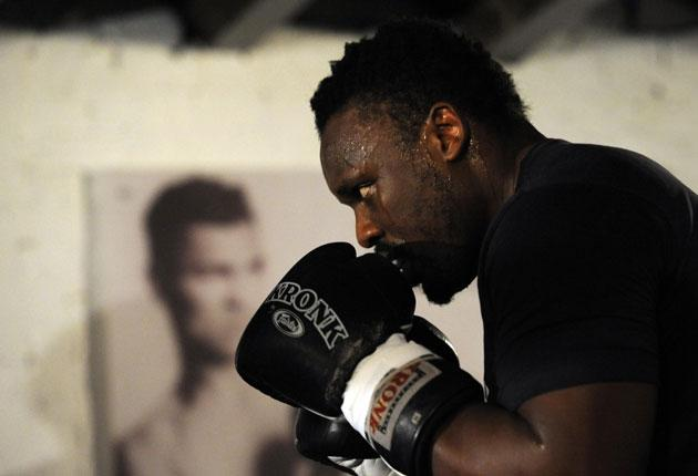 'I'm not Audley,' says Dereck Chisora. 'I love fighting and I'll show him how it's done. My heart's bigger than his'