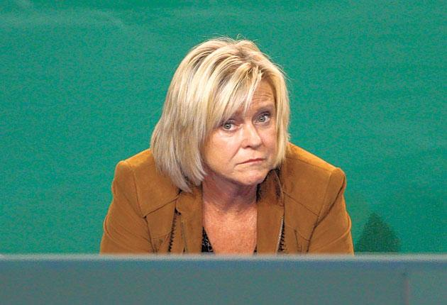Sue Barker is overseeing a post-watershed series of Question of Sport