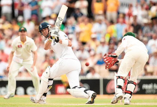 Kevin Pietersen collects another boundary en route to his double century