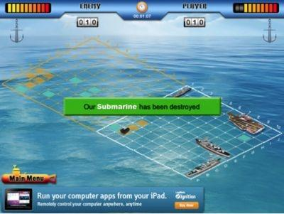 'Battleship for iPad' iPad App