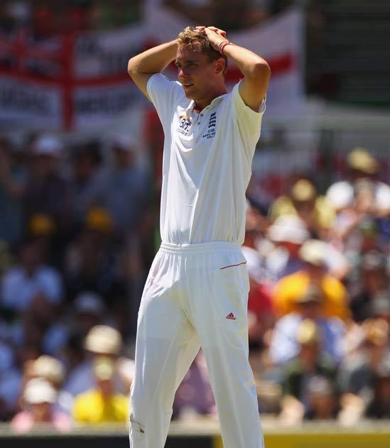 Broad will miss the rest of the series