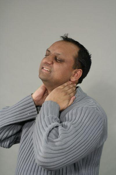Pain in the neck? An extremely deep Rolfing session may offer some relief.