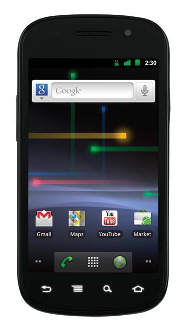 Google's Nexus S is one of the new smartphones with Android 2.3.