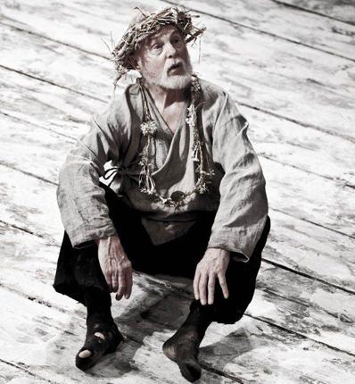 Derek Jacobi as the king in Michael Grandage's production of King Lear