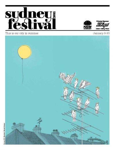 Sydney Festival poster for 2011