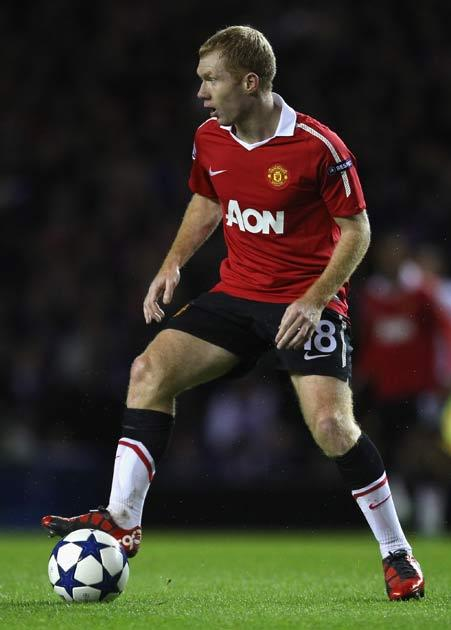 Scholes is doubtful for the clash