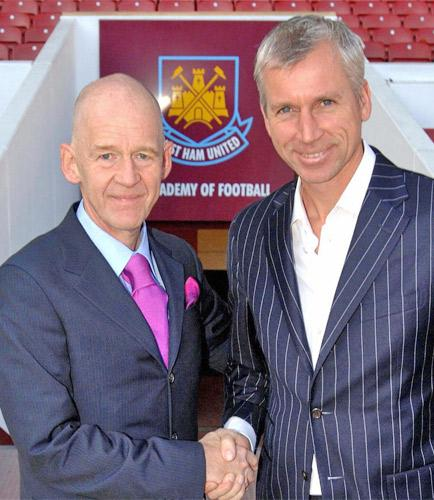 Alan Pardew began well at West Ham before falling out with the owners