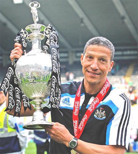 Winning the Championship was not enough to save Chris Hughton