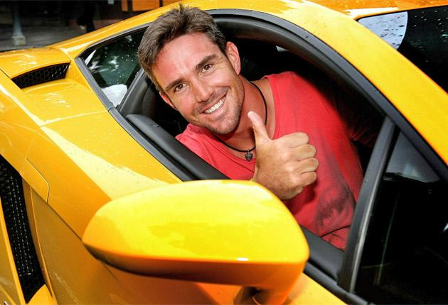 Kevin Pietersen gives his verdict on the Lamborghini Gallardo