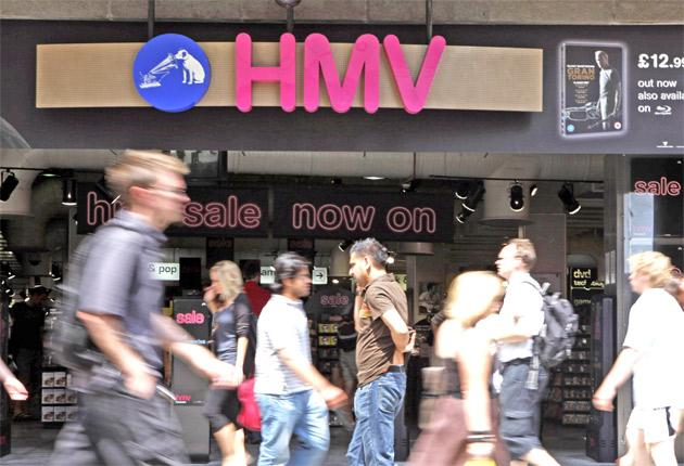 HMV says the next month of trading will be crucial to its full-year results