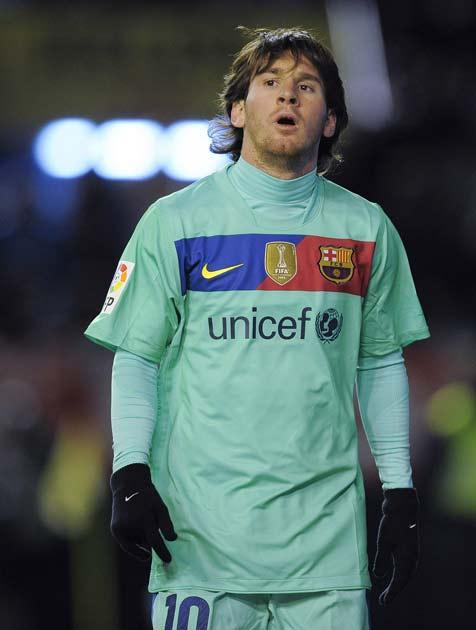Barcelona currently pay to have Unicef on their shirt