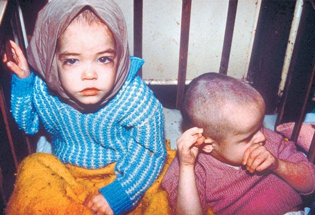 Images of Romanian orphans in 1990 shocked the world