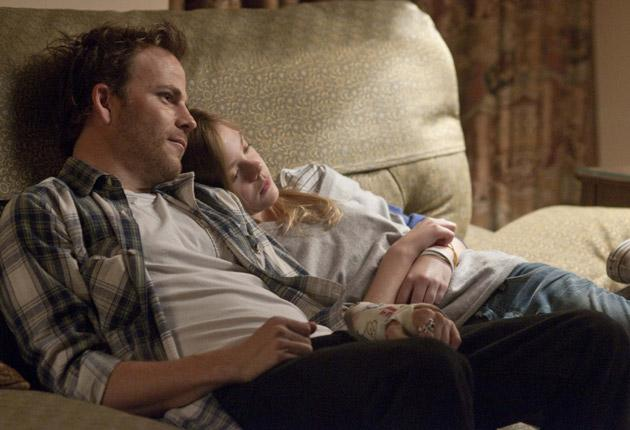 Lost and found: Chronically bored film star Johnny Marco (Stephen Dorff) chills with daughter, Cleo (Elle Fanning)