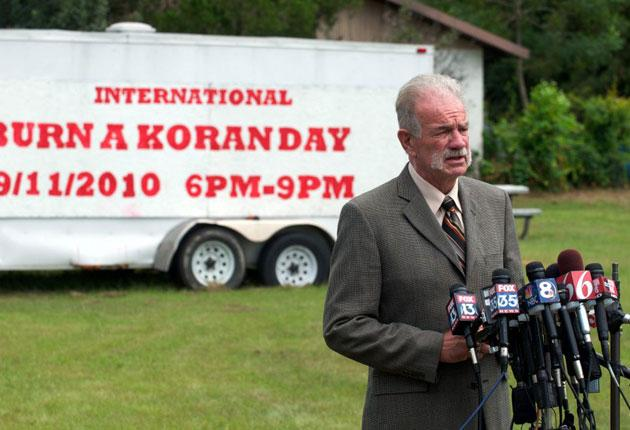 Terry Jones provoked outrage with his plan to burn copies of the Koran