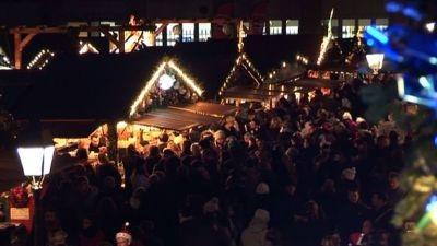 Gallic festive cheer at historic Christmas market