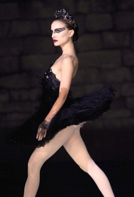 First position: Natalie Portman in 'Black Swan'