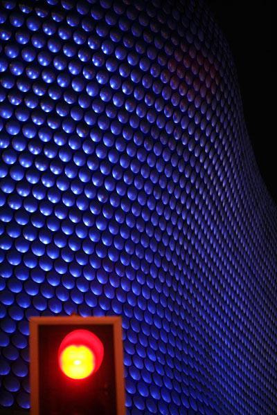 The landmark Selfridges store in Birmingham, the fattest city in Europe
