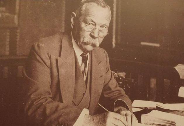 Sir Arthur Conan Doyle: The writer chose to build a house in Hindhead, Surrey, because of the mild climate, which he thought would be better for his wife, who had tuberculosis