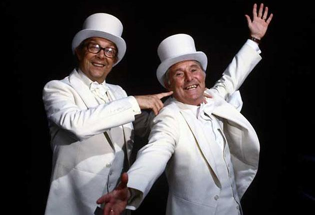 Old and new: Vintage Morecambe and Wise
