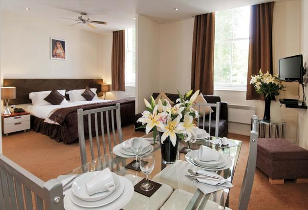 You could be the lucky winner of two nights' B&B in an apartment at the four-star Grand Plaza Apartments in Bayswater