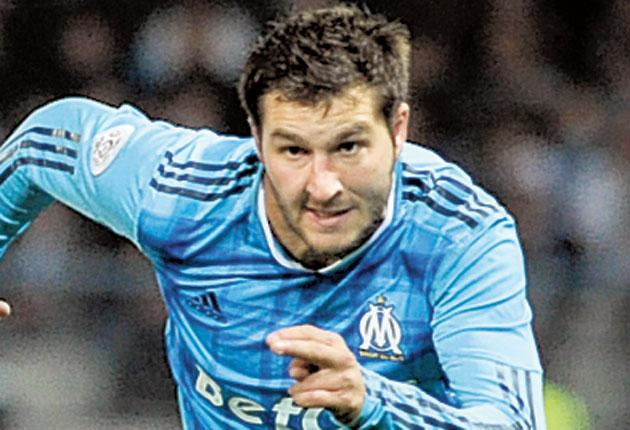 Andre-Pierre Gignac has only scored once in five months and is the focus of struggling Marseilles' supporters' frustrations