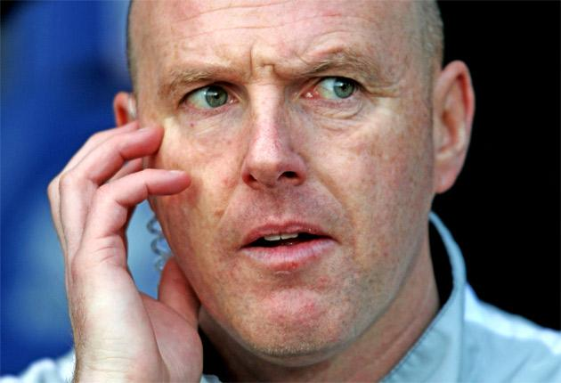 Steve Kean will be in charge of Blackburn Rovers for the rest of the season