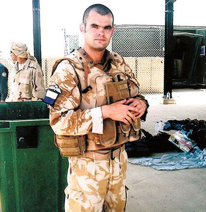 Corporal Steven Dunn, who was killed by a roadside bomb in Nahr-e-Saraj, Helmand