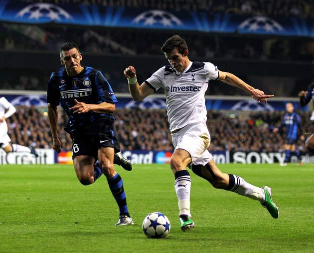 Gareth Bale came to the world's attention with his performances against Inter Milan