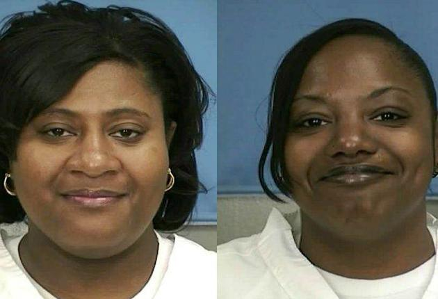 Jamie Scott, left, and her sister Gladys have been serving double life sentences for a robbery